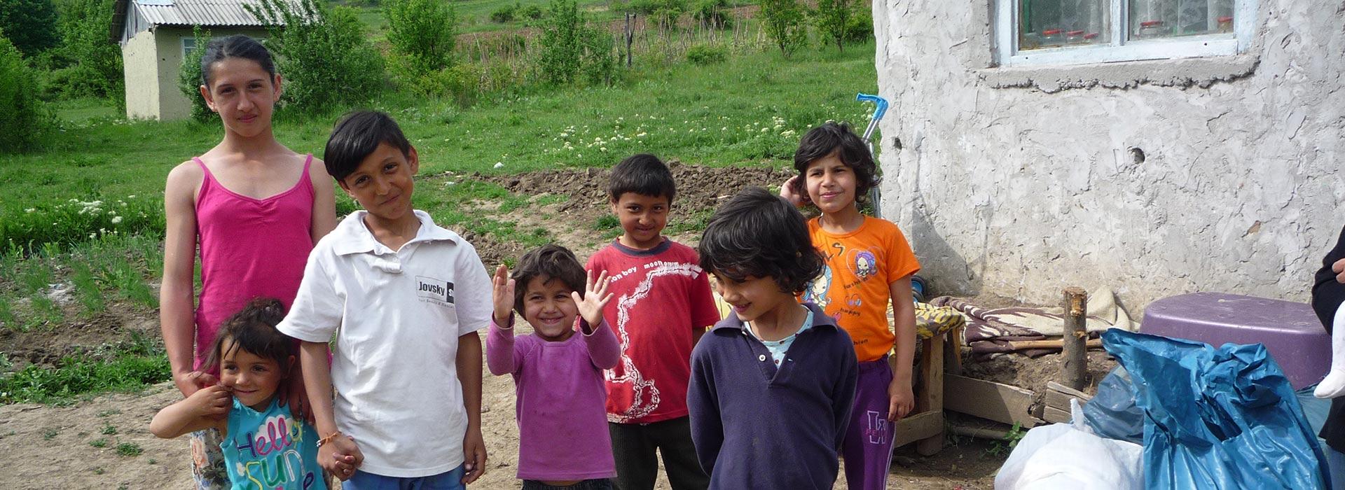 Skolprojekt bland romer i Rumänien